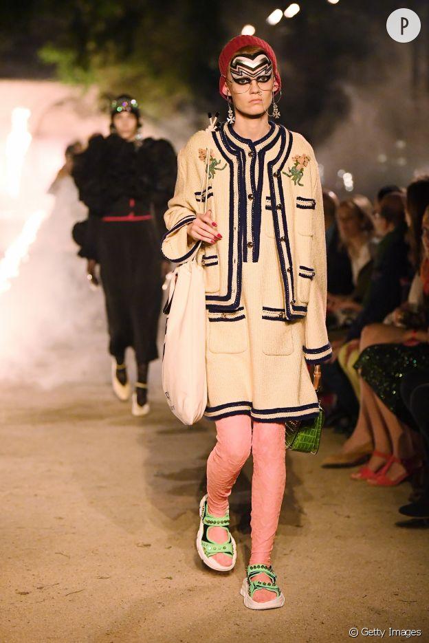 Défilé Gucci Croisière 2019.