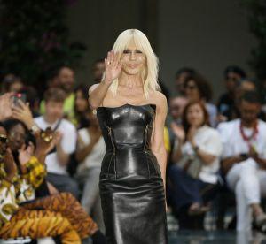 Versace : Donatella révèle en plein show comment prononcer le nom de la marque