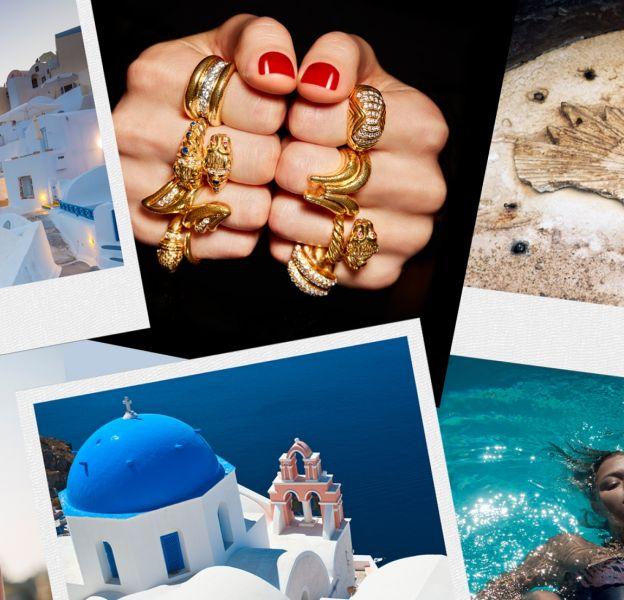 5 marques grecques à découvrir. Crédits photos : Gettyimages/ZEUS+ΔIONE/Gettyimages/Zolotas/Gettyimages/Mitos.
