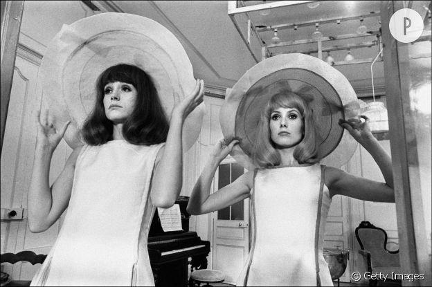 """""""Les demoiselles de Rochefort"""" de Jacques Demy avec Catherine Deneuve et Françoise Dorléac."""