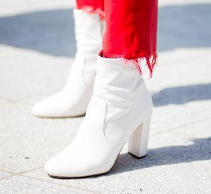 Les bottines blanches, cette pièce de cagole qui est revenue dans notre dressing
