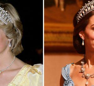 Kate Middleton : toutes ces fois où elle a porté les bijoux de Lady Di