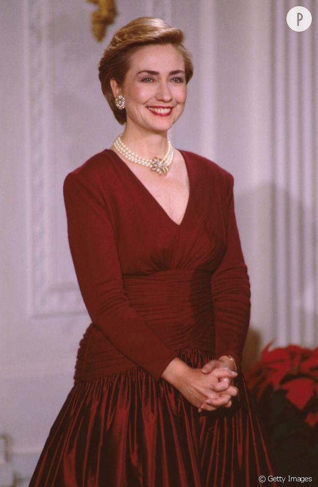 Hillary Clinton en 1993.