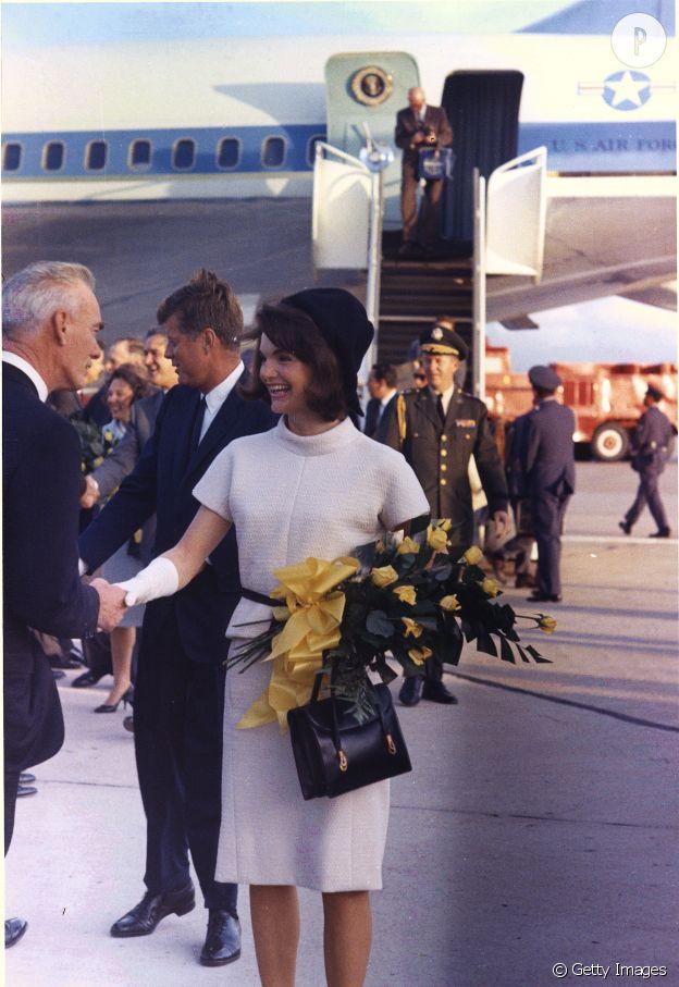 Jackie Kennedy en 1963.