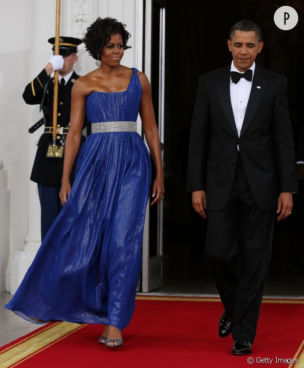 Michelle Obama en 2010.