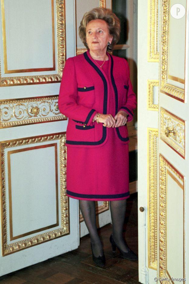 Bernadette Chirac en 2002.