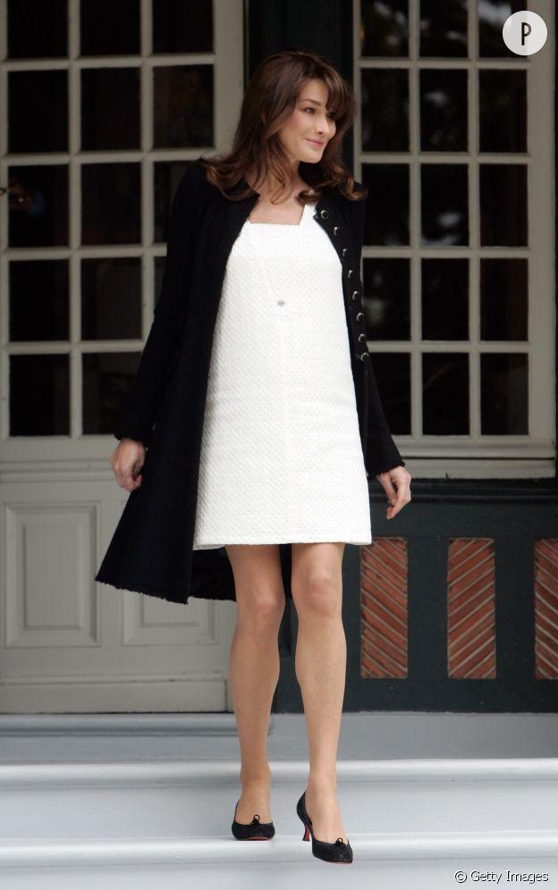 Carla Bruni-Sarkozy en 2011.