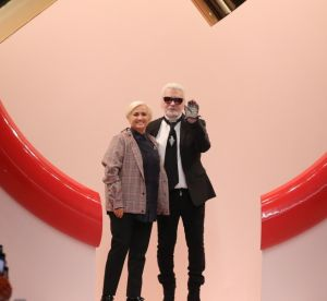 La maison Fendi rend hommage à Karl Lagerfeld lors de son dernier défilé