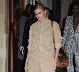 Hailey Bladwin magnifie les fringues de Justin pendant la Fashion Week