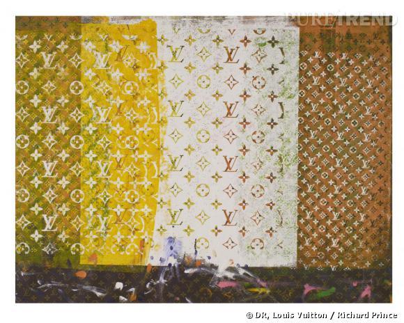 Etude sans titre (2008), par Richard Prince, acrylique sur toile