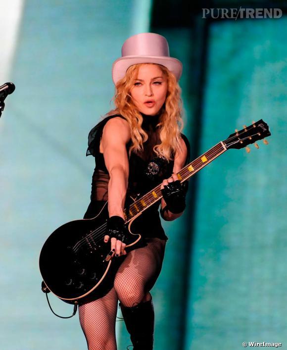 Madonna, concert du 23 juillet 09 à Madrid