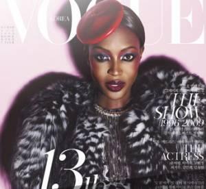 Naomi, Claudia et Eva fêtent le Vogue Corée