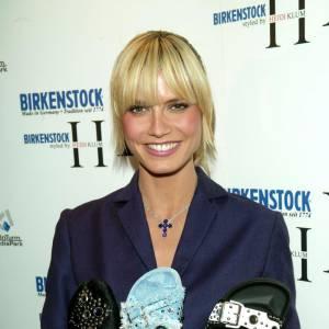 Heidi Klum Designer pour Birkenstock