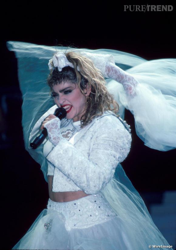 """La Madonne devergonde la mariée sur des airs de """"like a virgin"""""""