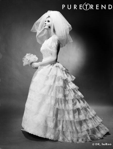 La robe de marié dans les années 50, une période de grand faste ...