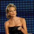 Sharon Stone en robe Armani Privé à la cérémonie des Rudolph Valentino Awards