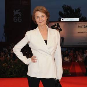 Charlotte Rampling à la 66e Mostra de Venise
