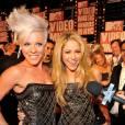 Pink et  Shakira   en  Balmain
