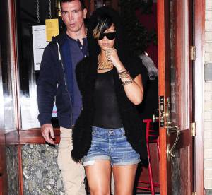 Rihanna, sexy en short et top transparent... Un look à shopper