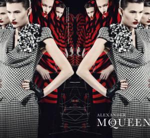 Tara Gill par David Burton : La nouvelle campagne d'Alexander McQueen