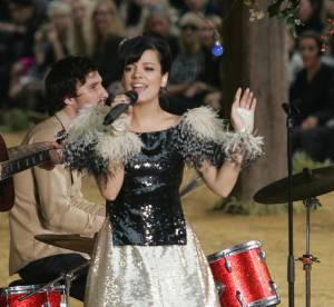 Lily Allen fait d'un défilé de mode un véritable show !
