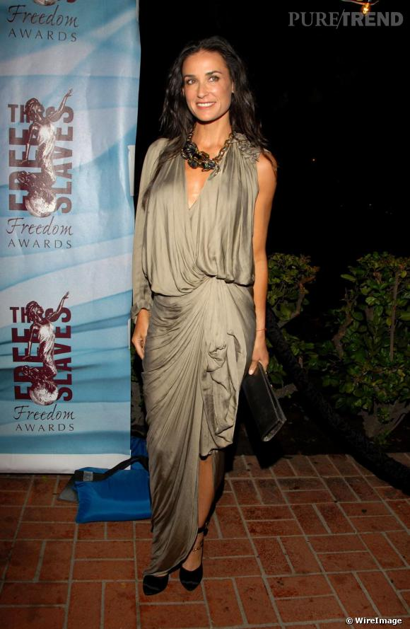 Demi Moore aux Freedom Awards à Los Angeles