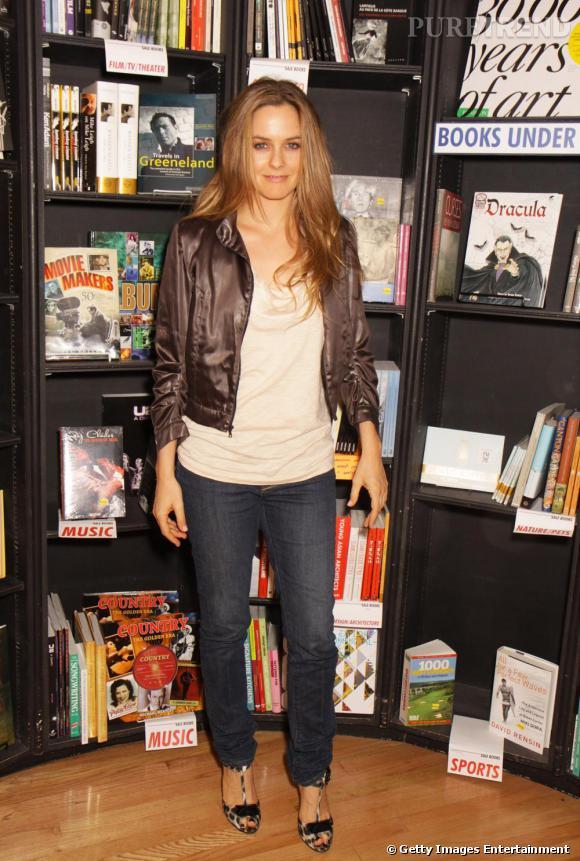Alicia Silverstone lors d'une séance de signatures pour son nouveau livre A kind Diet