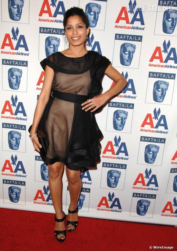 Freida Pinto aux 18e Britannia Awards en californie