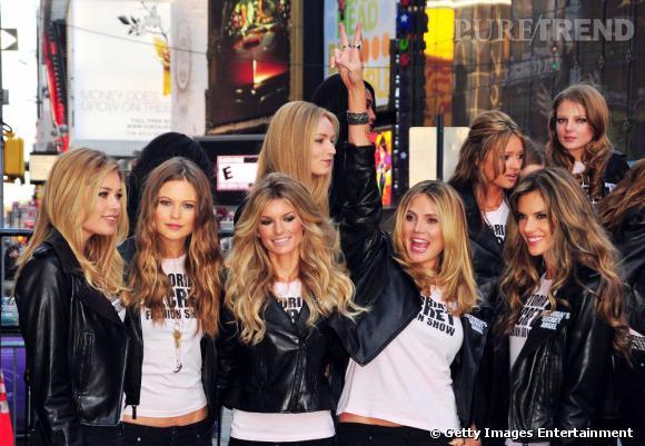 Les Anges de Victoria's Secret à Times Square