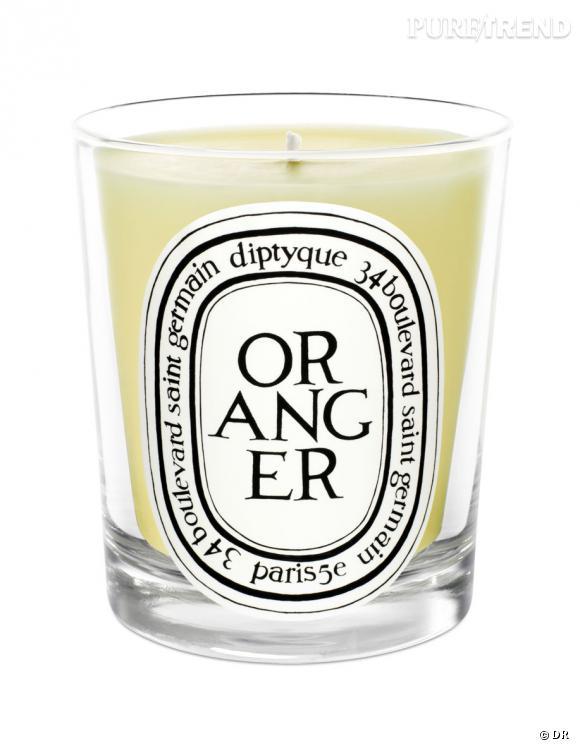 bougies fleur d'oranger diptyque. un bel hommage enflammé. bougie