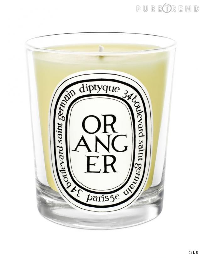bougies fleur d 39 oranger diptyque un bel hommage enflamm bougie oranger dyptique prix sur. Black Bedroom Furniture Sets. Home Design Ideas