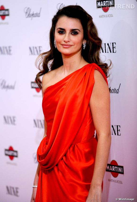 """Penelope Cruz à la première du film """"Nine"""" à New-York"""