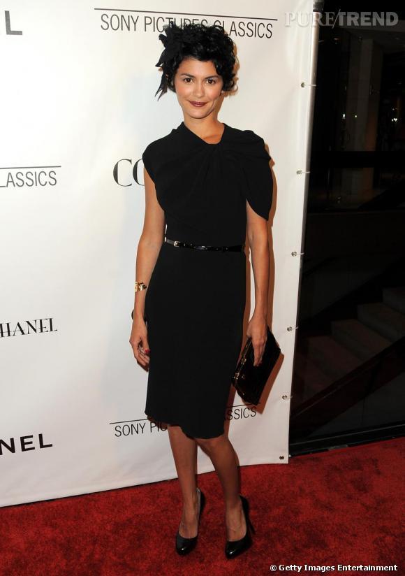 Une nouvelle égérie Chanel parmi les Françaises stars de la mode en 2009. Audrey Tautou bien sûr, toujours chic et pétillante sur les tapis rouges. Même lorsqu'elle trompe sa maison avec une robe Lanvin.