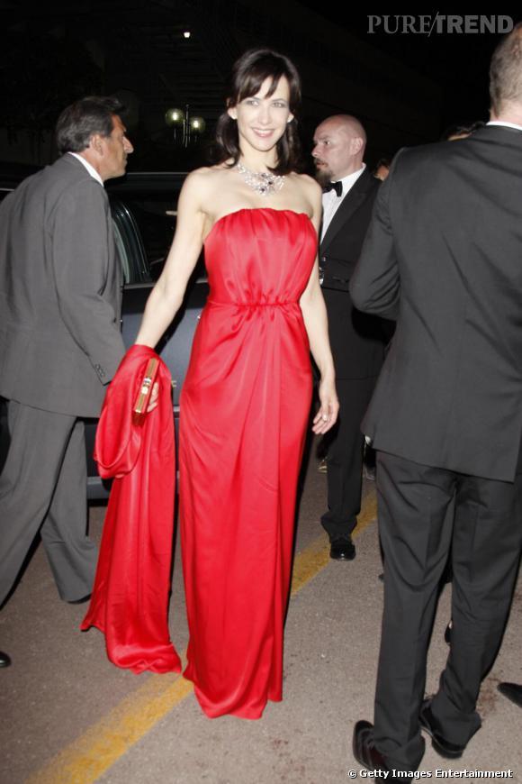 A Cannes, Sophie Marceau nous a encore bluffées, prouvant combien elle restait ambassadrice des ensembles sexy tout en restant nature.