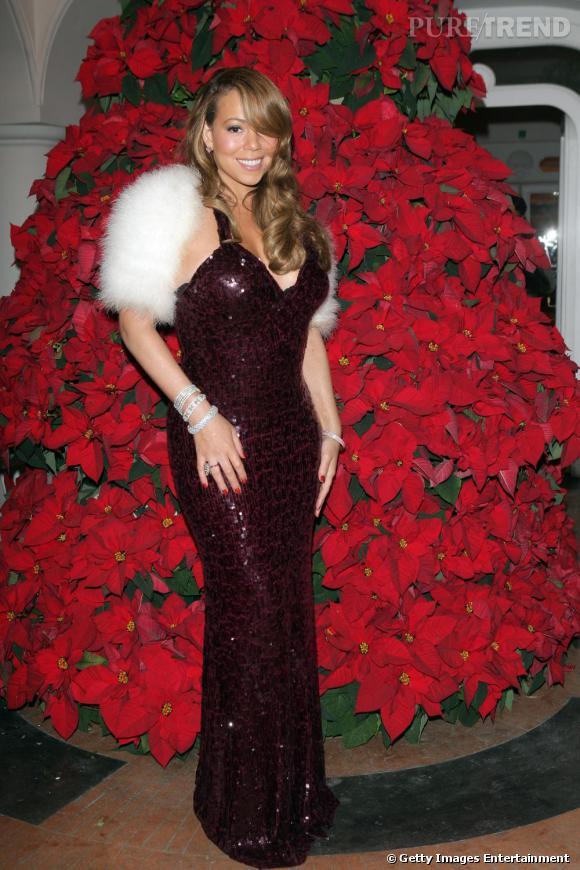 Mariah Carey au Festival du Film Hollywoodien de Capri en Italie.