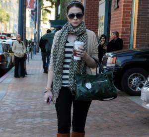 Michelle Trachtenberg : la mode de rue, ça la connaît !