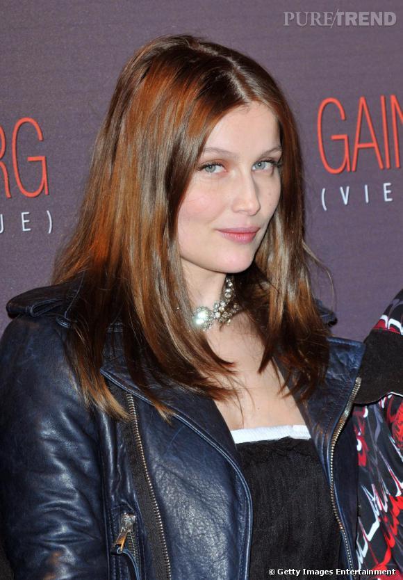 Laetitia Casta lors de la première de Gainsbourg, Une vie héroïque à Paris
