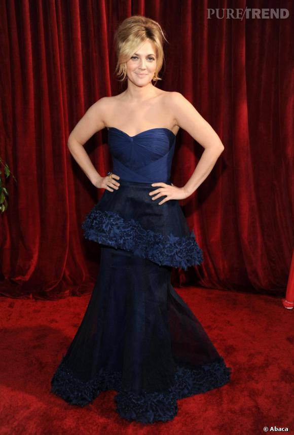 Drew Barrymore lors des Screen Actors Guild Awards à Los Angeles