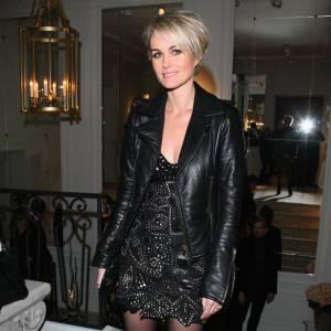 Laeticia Hallyday lors du défile Couture Balmain à Paris
