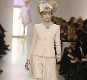 Pâleur iridescente du Chanel show