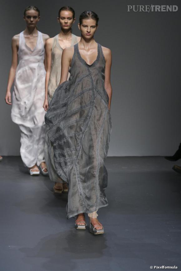 Défilé Calvin Klein Printemsp-Eté 2010