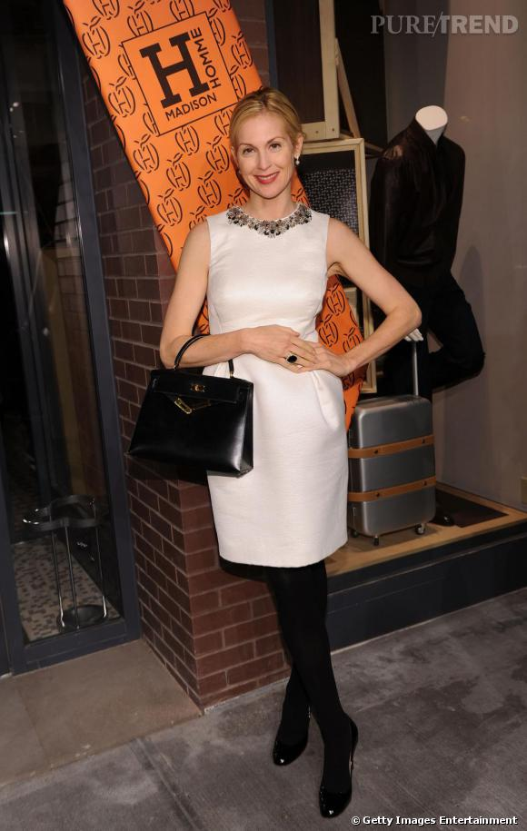 Kelly Rutherford à l'ouverture de la boutique Hermes Homme de New-York