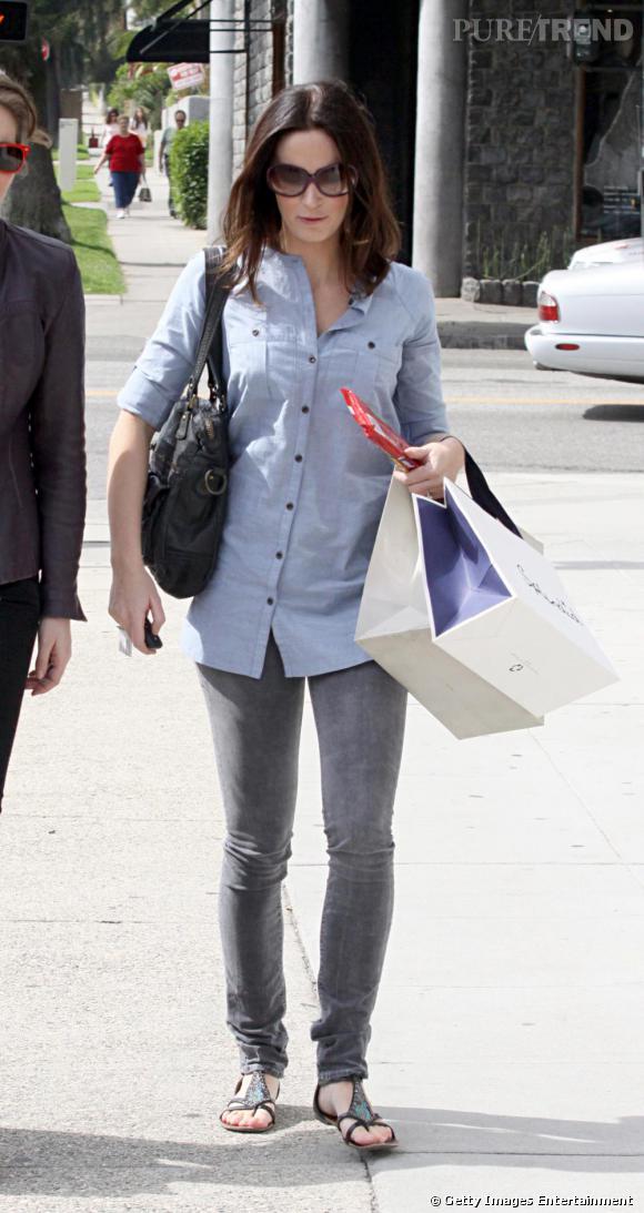 Emily Blunt avec des amies à Beverly Hills