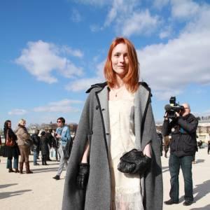 Audrey Marnay : une robe dans l'esprit nuisette.