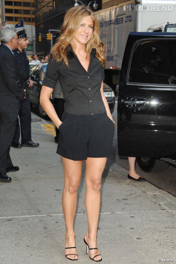Jennifer et sa version sexy chic du short