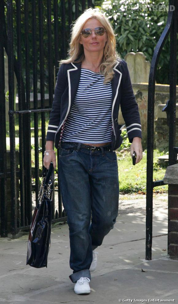 Geri Halliwell ou le style boyish trendy
