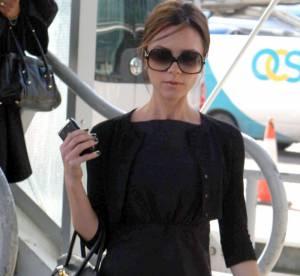 Victoria Beckham, surprenante, sans ses talons !