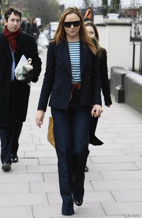 Stella McCartney en promenade dans les rues de Londres