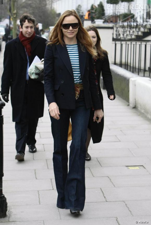 Stella McCartney annonce le retour du jean flare