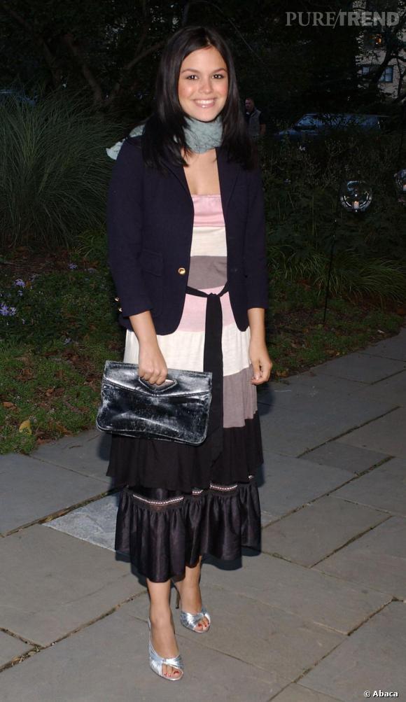 Quand Rachel Bilson jouait le rôle de Summer dans la série Newport Beach, elle n'avait rien de la it-girl qu'elle est aujourd'hui.